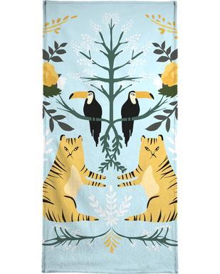 Lions serviette de bain
