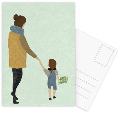 Mom Postcard Set
