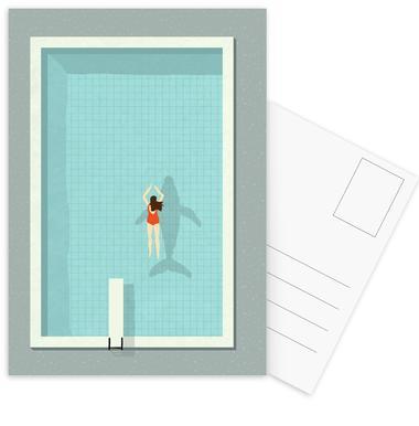 Pool Postcard Set