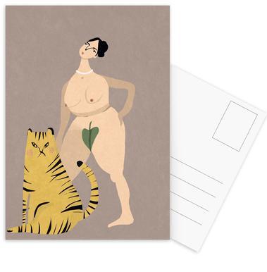 Tigress Postcard Set