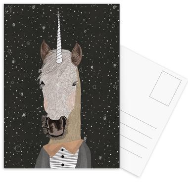 Unicorn Postcard Set