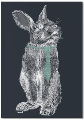 Fancy Rabbit Notebook