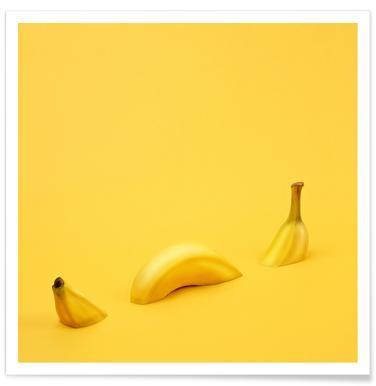 Loch Ness Banana - Premium Poster