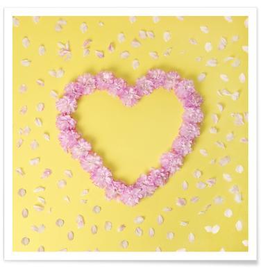 Cherry Blossom Heart