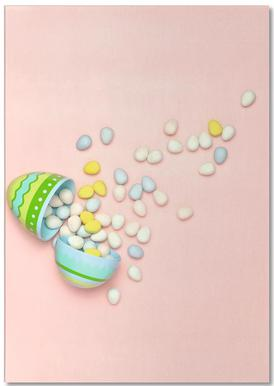 Easter Egg Spill Notepad