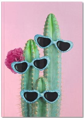 Cactus Sunglasses Notebook