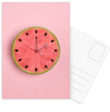 Watermelon Time -Postkartenset