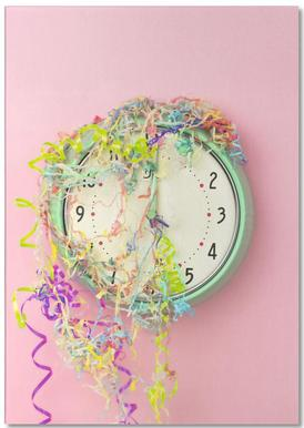 Clock Confetti notitieblok