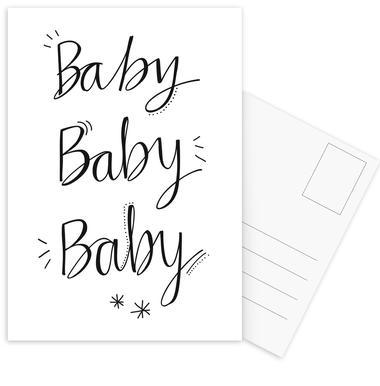 Baby Baby ansichtkaartenset