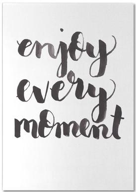 Enjoy Every Moment bloc-notes