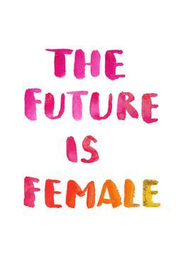 The Future Is Female Acrylic Print
