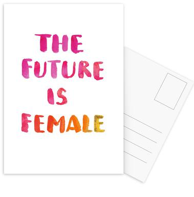 The Future Is Female cartes postales