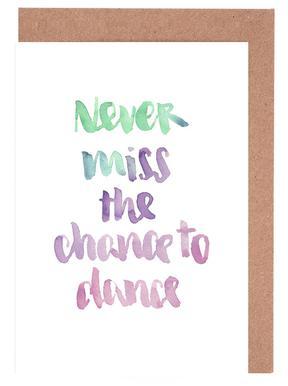 Never Miss a Chance wenskaartenset