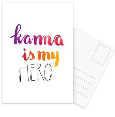 Karma ansichtkaartenset