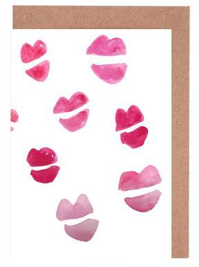 Kiss Kiss wenskaartenset