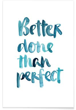 Better Done Than Perfect -Poster