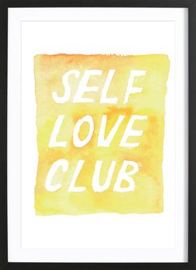 Self Love Club 2 Framed Print