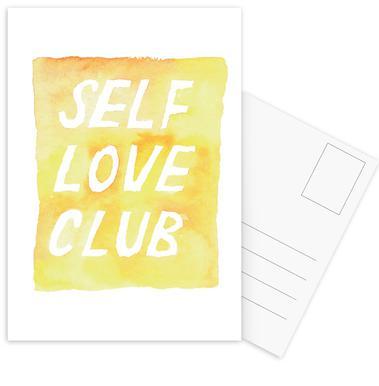 Self Love Club 2 Postcard Set