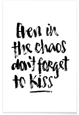 Don't Forget to Kiss Poster