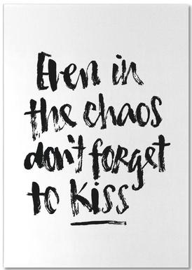 Don't Forget to Kiss Notepad