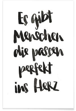 Perfekt ins Herz Poster