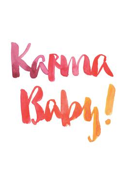 Karma Baby Acrylic Print