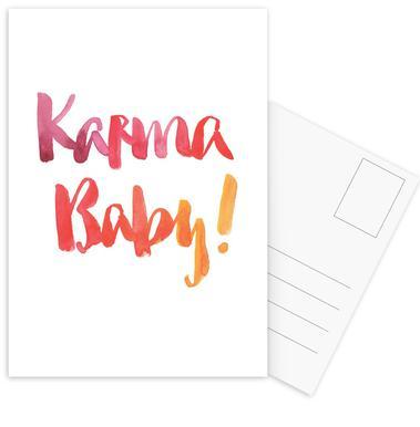 Karma Baby Postcard Set