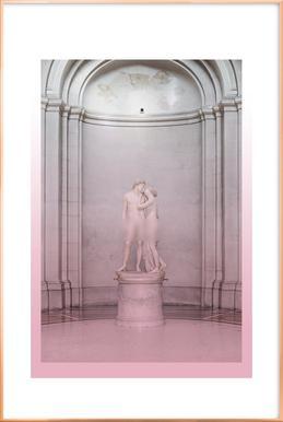 Adamus & Evalus Poster in Aluminium Frame