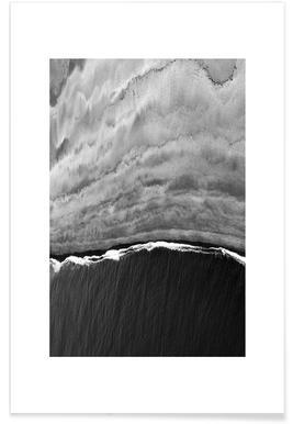 Black Ocean Poster