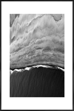 Black Ocean Framed Poster