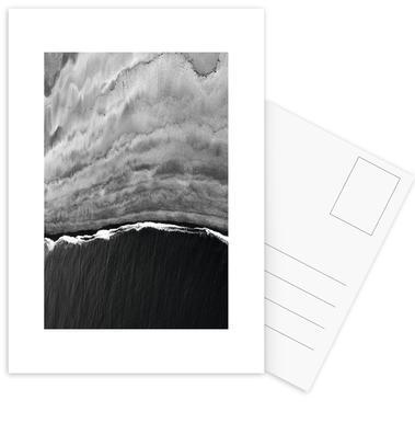 Black Ocean Postcard Set
