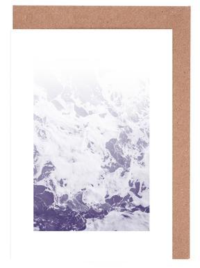 Purple Ocean Greeting Card Set