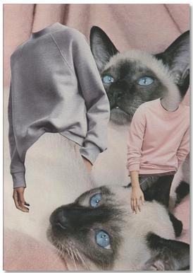 Siamese Sweaters -Notizblock