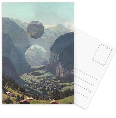 Tiny Worlds Postcard Set