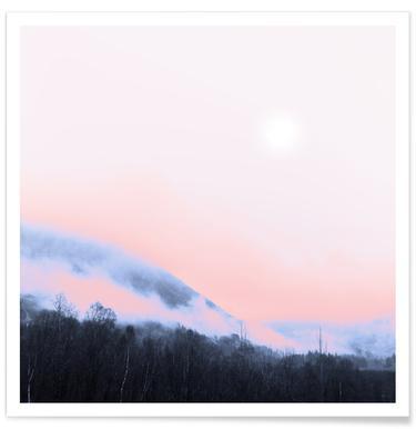 Smokey Pink - Premium poster