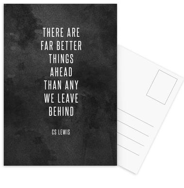 Far Better Things Postcard Set