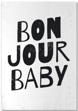 Bonjour Baby bloc-notes