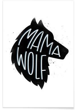 Mama Wolf Poster