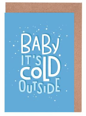 Cold Outside Greeting Card Set