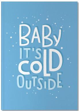 Cold Outside Anteckningsbok