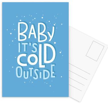 Cold Outside -Postkartenset
