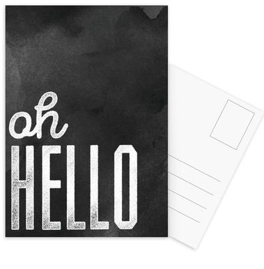 Oh Hello cartes postales