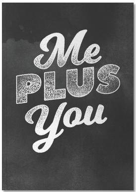 Me Plus You carnet de notes