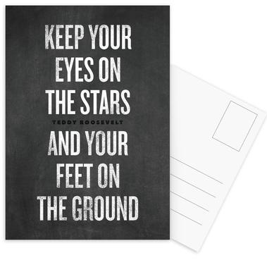 Eyes on the Stars cartes postales