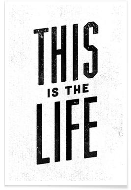 This Is the Life affiche