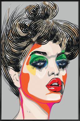 Colours Framed Poster