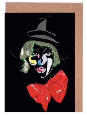 Clown -Grußkarten-Set