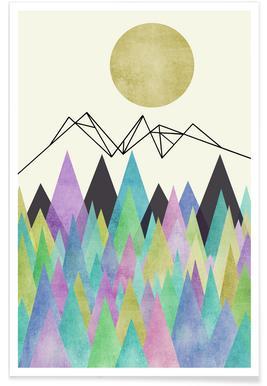 Geo Berge -Poster