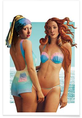 Beach Girls Plakat