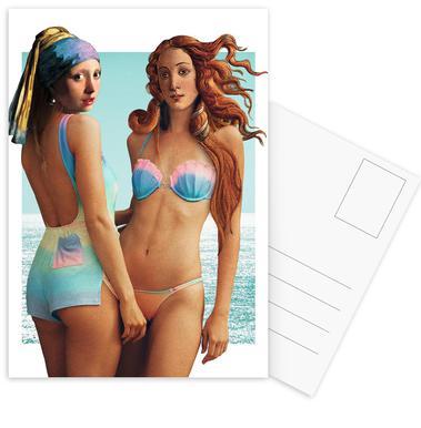 Beach Girls ansichtkaartenset